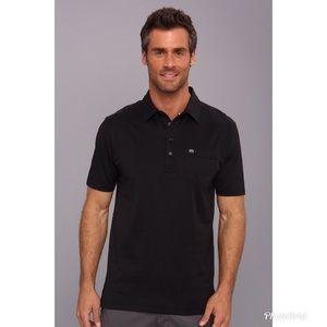 Travis Mathew Men's Black B - Og Polo Shirt